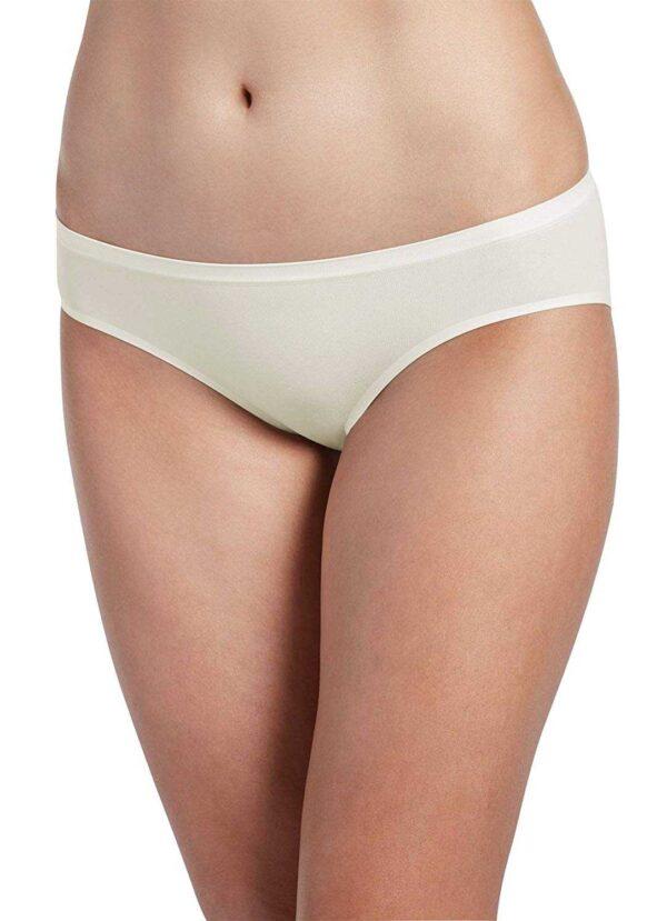 Jockey Women's Underwear Air Seamfree Bikini (Sand, 5)