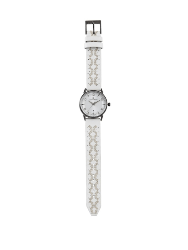 Lucky Brand Torrey Embroidered Watch3