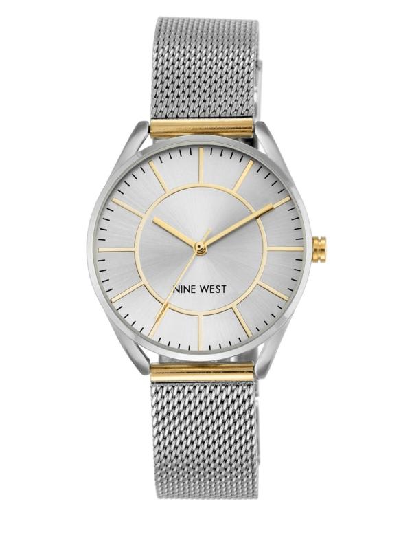 Nine West Analog Mesh Bracelet Watch