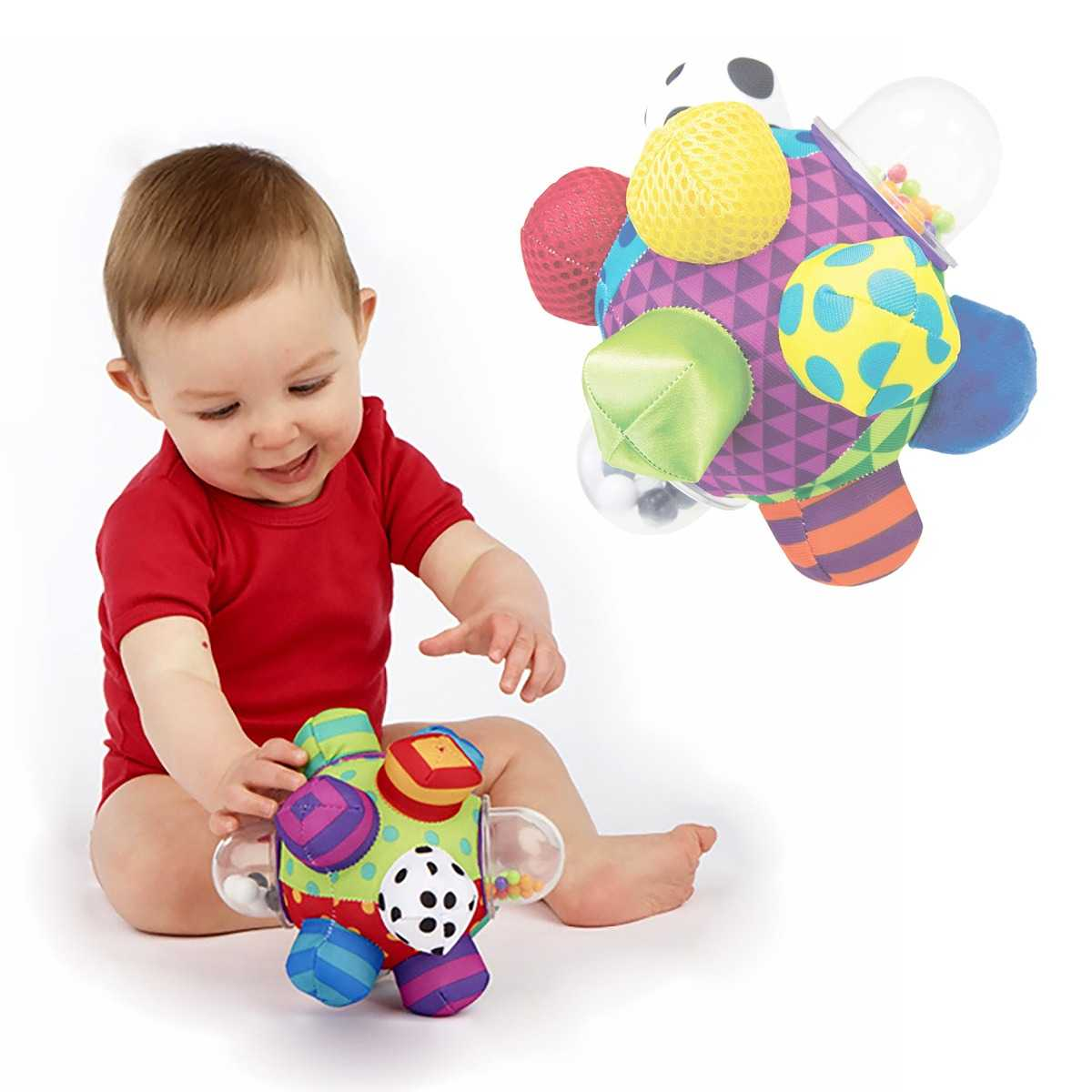 Cognitive Developmental Bumpy Ball Toy for Babies from ...