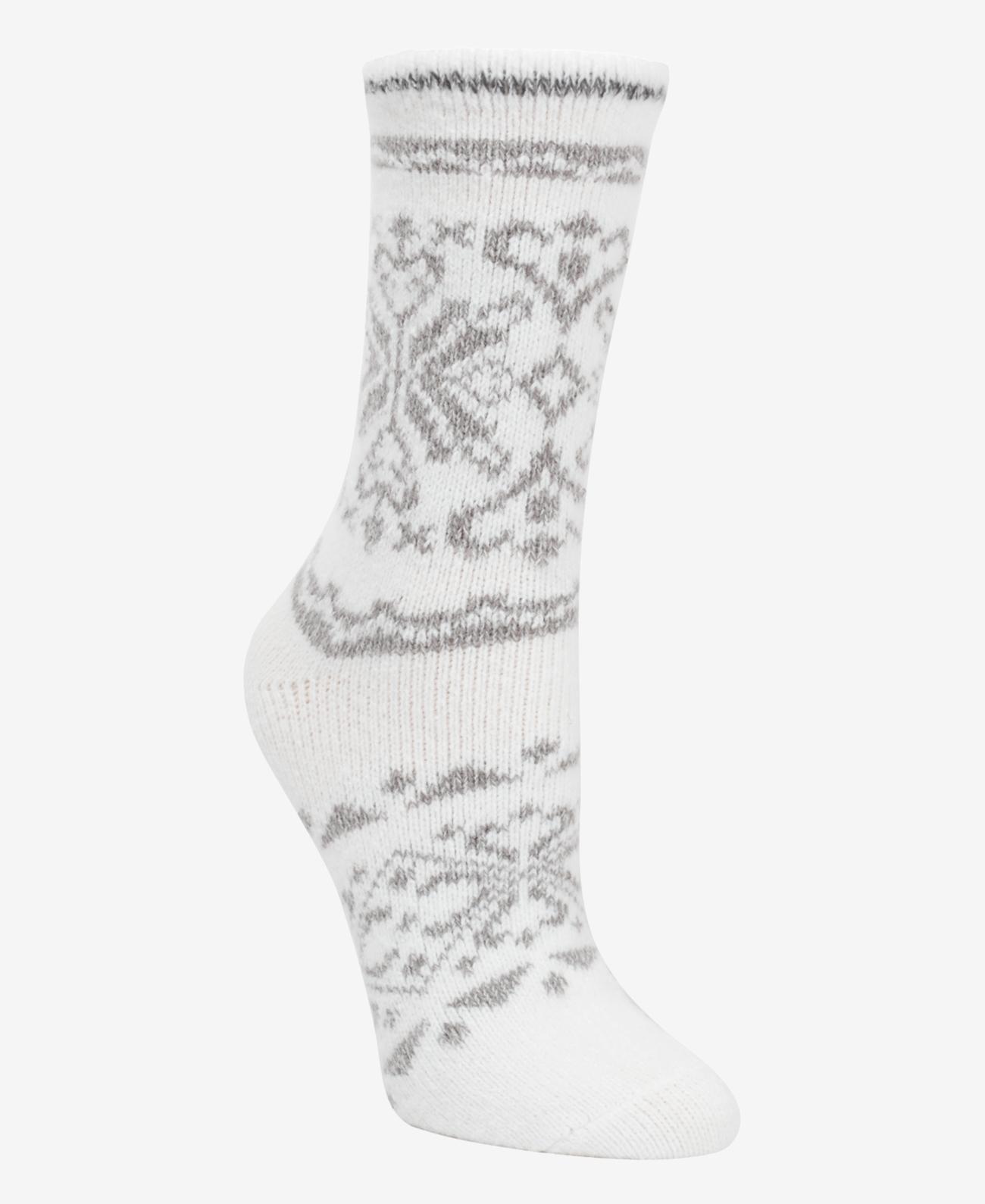Cuddl Duds Women's Fairisle Boot Socks
