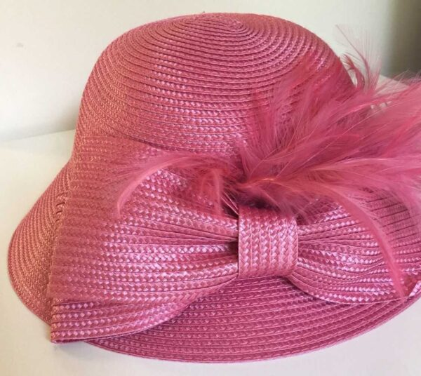 766288987654-SUMMER-AUGUST-HAT-Full-of-Feathers-Cloche-pink-18127-MSRP-68-282694801175-2