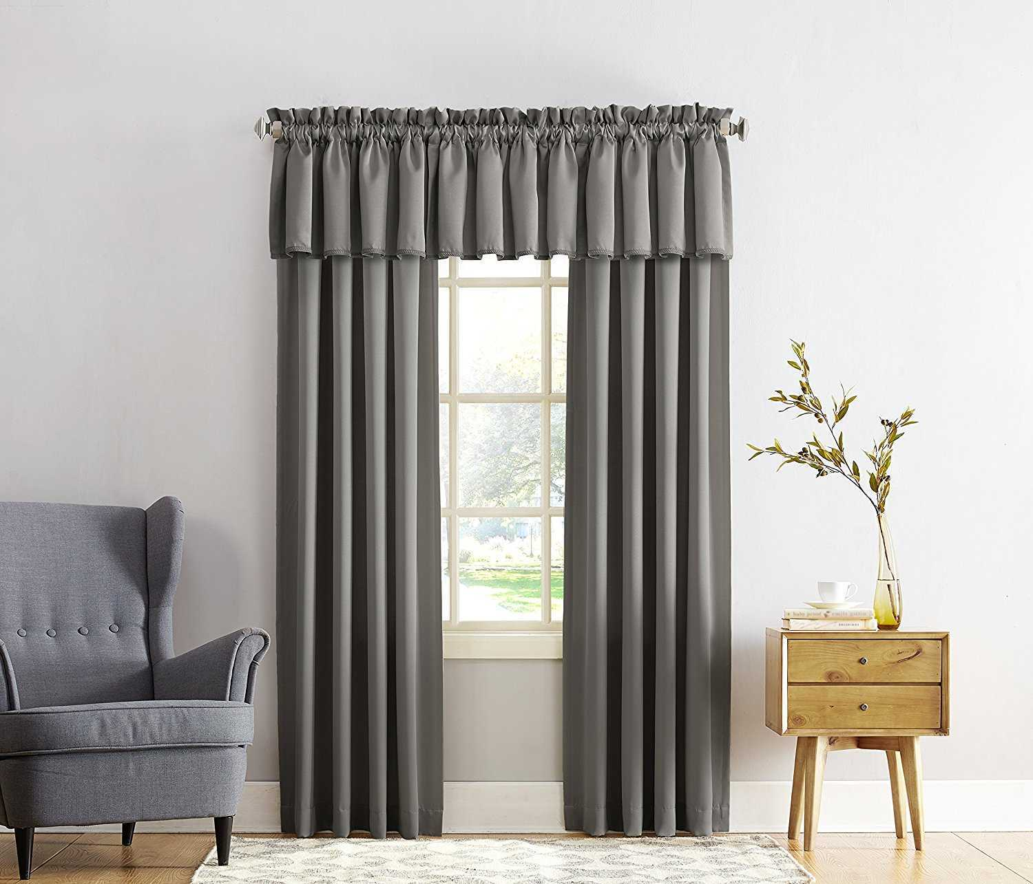 Sun Zero Barrow Energy Efficient Rod Pocket Curtain Panel